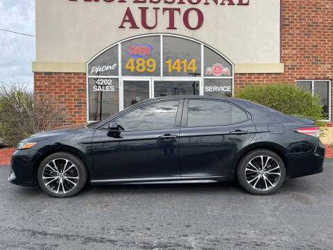 2018 Toyota Camry for sale at Professional Auto Sales & Service in Fort Wayne IN