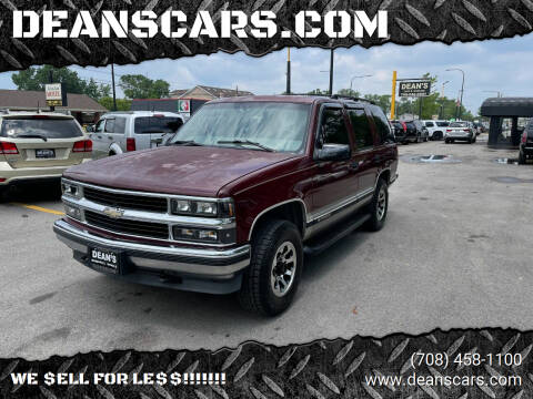 1999 Chevrolet Tahoe for sale at DEANSCARS.COM in Bridgeview IL