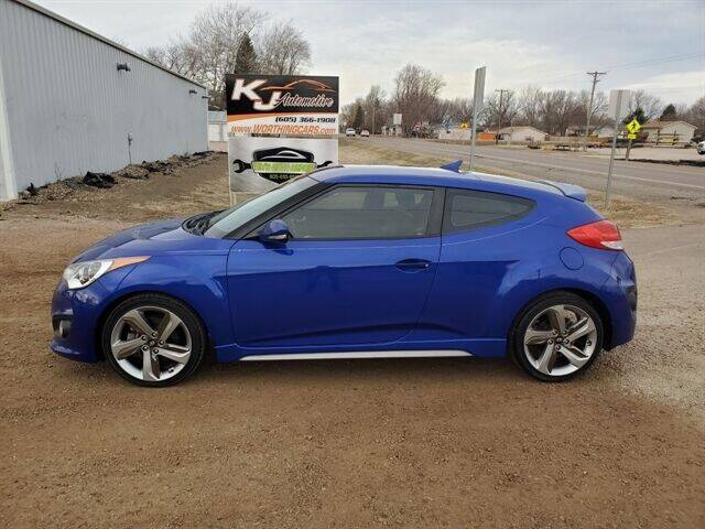 2013 Hyundai Veloster for sale at KJ Automotive in Worthing SD