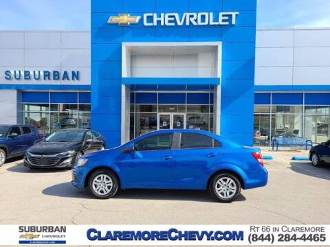 2018 Chevrolet Sonic for sale at Suburban Chevrolet in Claremore OK