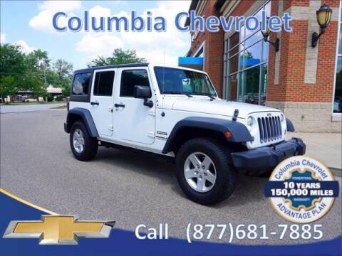 2015 Jeep Wrangler Unlimited for sale at COLUMBIA CHEVROLET in Cincinnati OH