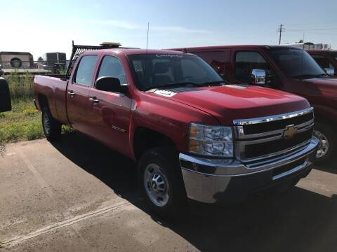 2012 Chevrolet Silverado 2500HD for sale at CARGO VAN GO.COM in Shakopee MN