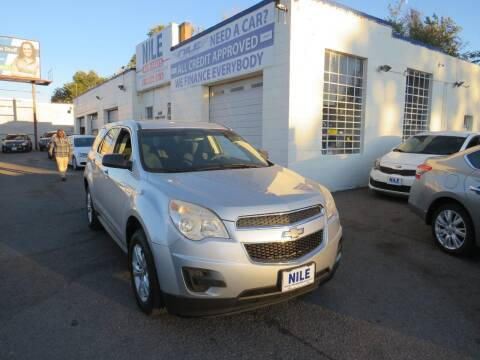 2012 Chevrolet Equinox for sale at Nile Auto Sales in Denver CO