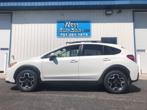 2015 Subaru XV Crosstrek for sale at NESS AUTO SALES in West Fargo ND