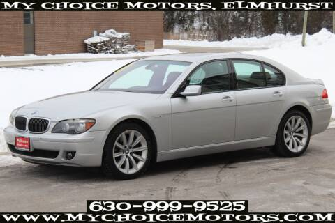2007 BMW 7 Series for sale at Your Choice Autos - My Choice Motors in Elmhurst IL