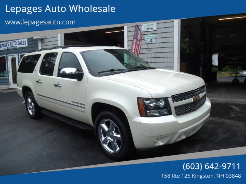 2013 Chevrolet Suburban for sale at Lepages Auto Wholesale in Kingston NH