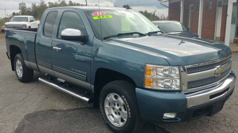2011 Chevrolet Silverado 1500 for sale at AutoBoss PRE-OWNED SALES in Saint Clairsville OH