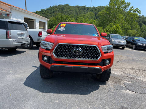 2018 Toyota Tacoma for sale at PIONEER USED AUTOS & RV SALES in Lavalette WV