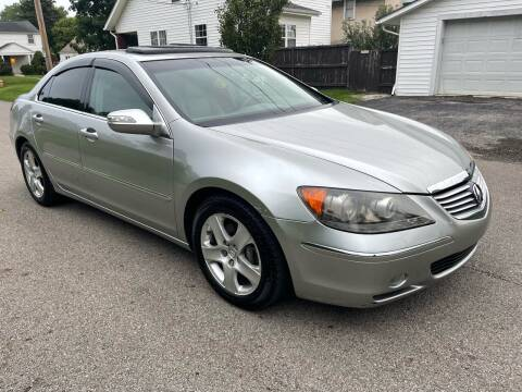 2008 Acura RL for sale at Via Roma Auto Sales in Columbus OH