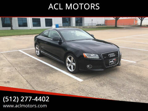2009 Audi A5 for sale at ACL MOTORS in Austin TX