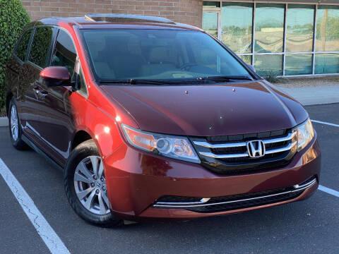 2016 Honda Odyssey for sale at AKOI Motors in Tempe AZ