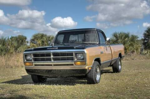 1986 Dodge D150 Pickup for sale at Classic Car Deals in Cadillac MI
