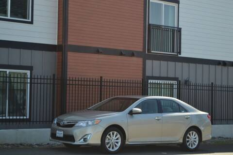 2013 Toyota Camry Hybrid for sale at Skyline Motors Auto Sales in Tacoma WA
