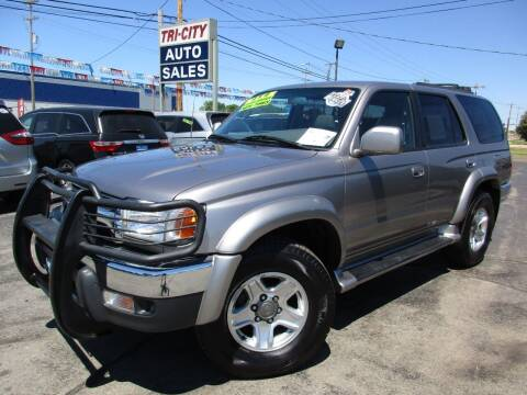 2001 Toyota 4Runner for sale at TRI CITY AUTO SALES LLC in Menasha WI