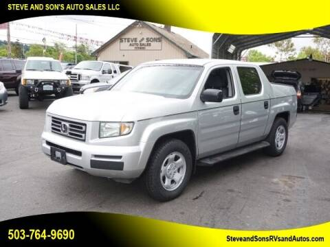 2006 Honda Ridgeline for sale at Steve & Sons Auto Sales in Happy Valley OR