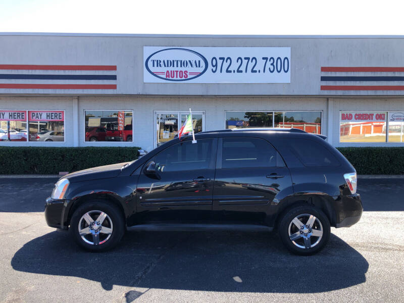 2009 Chevrolet Equinox for sale at Traditional Autos in Dallas TX