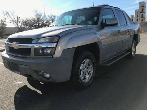 2002 Chevrolet Avalanche for sale at Bluesky Auto in Bound Brook NJ