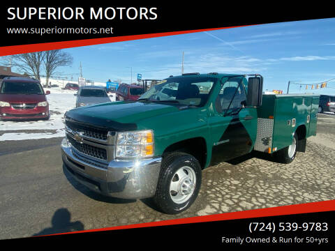 2008 Chevrolet Silverado 3500HD for sale at SUPERIOR MOTORS in Latrobe PA