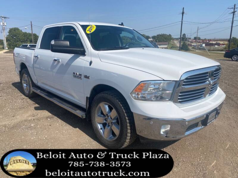 2017 RAM Ram Pickup 1500 for sale at BELOIT AUTO & TRUCK PLAZA INC in Beloit KS