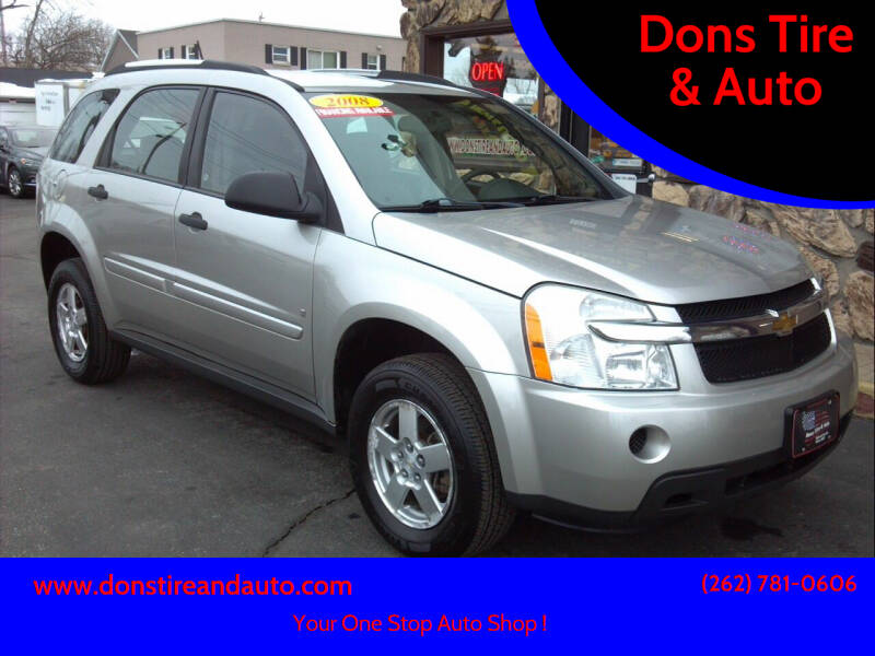2008 Chevrolet Equinox for sale at Dons Tire & Auto in Butler WI