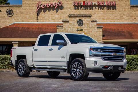 2016 Chevrolet Silverado 1500 for sale at Jerrys Auto Sales in San Benito TX