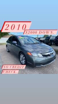 2010 Honda Civic for sale at Harry's Auto Sales, LLC in Goose Creek SC
