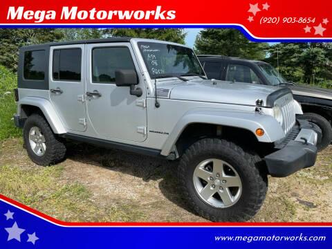 2008 Jeep Wrangler Unlimited for sale at Mega Motorworks in Appleton WI