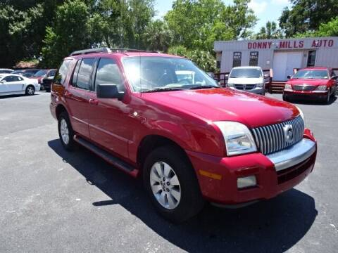 2006 Mercury Mountaineer for sale at DONNY MILLS AUTO SALES in Largo FL