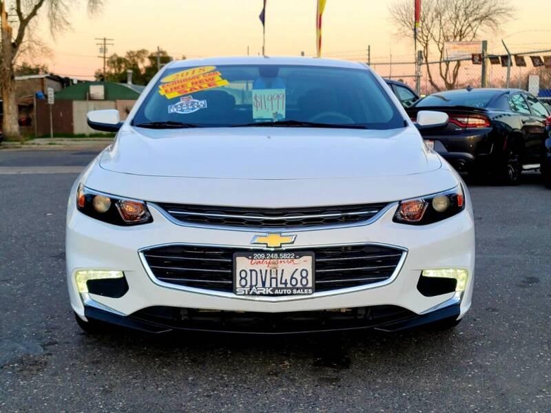 2018 Chevrolet Malibu for sale at Stark Auto Sales in Modesto CA
