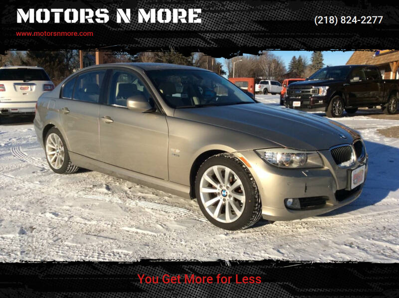 2011 BMW 3 Series for sale at MOTORS N MORE in Brainerd MN
