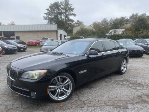 2012 BMW 7 Series for sale at Car Online in Roswell GA