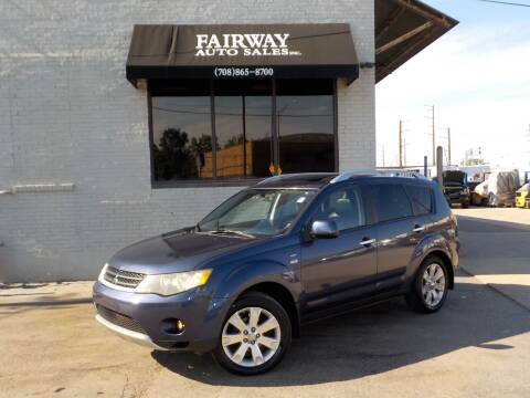 2008 Mitsubishi Outlander for sale at FAIRWAY AUTO SALES, INC. in Melrose Park IL