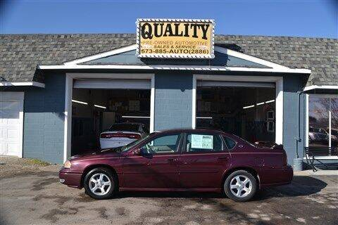 2004 Chevrolet Impala for sale at Quality Pre-Owned Automotive in Cuba MO