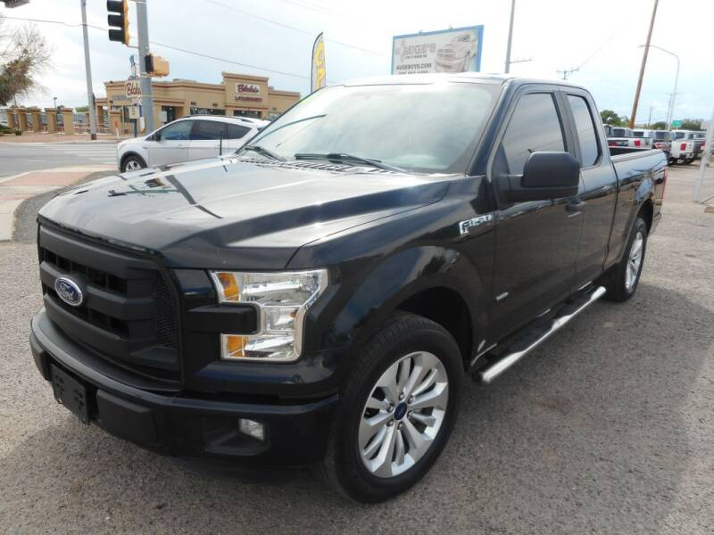 2016 Ford F-150 for sale at AUGE'S SALES AND SERVICE in Belen NM