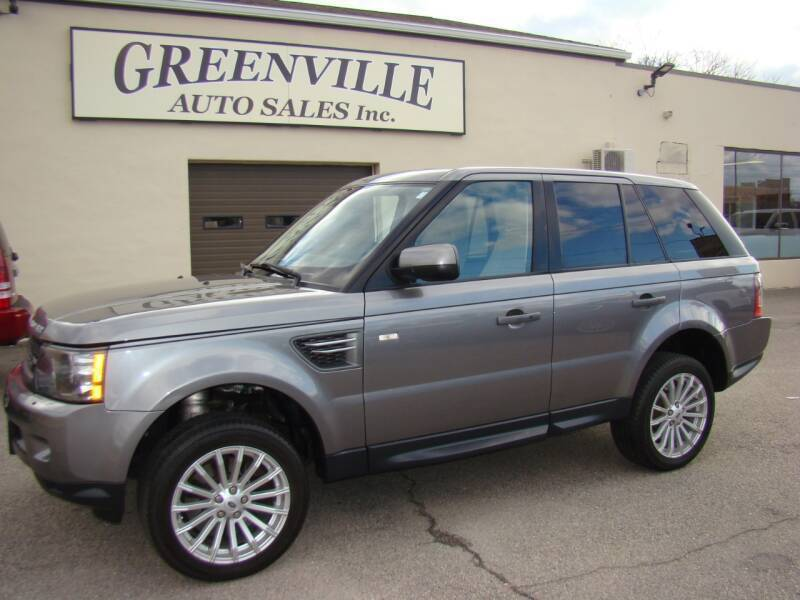2010 Land Rover Range Rover Sport for sale at Greenville Auto Sales in Warwick RI