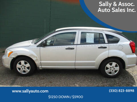 2008 Dodge Caliber for sale at Sally & Assoc. Auto Sales Inc. in Alliance OH