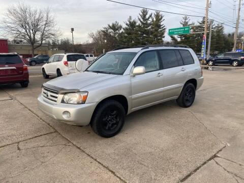 2007 Toyota Highlander for sale at Wolfe Brothers Auto in Marietta OH