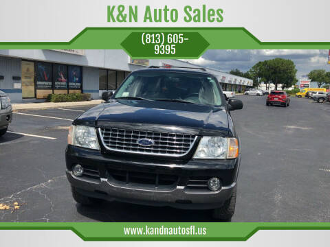 2004 Ford Explorer for sale at K&N Auto Sales in Tampa FL