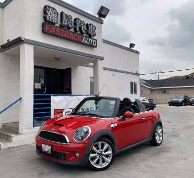 2013 MINI Convertible for sale at Fastrack Auto Inc in Rosemead CA