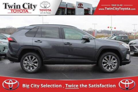 2021 Toyota RAV4 for sale at Twin City Toyota in Herculaneum MO