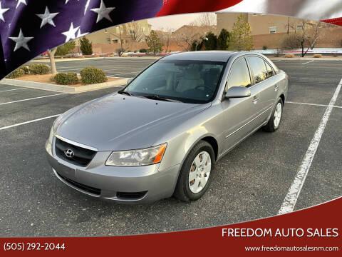 2008 Hyundai Sonata for sale at Freedom Auto Sales in Albuquerque NM