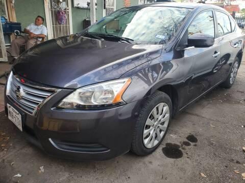 2014 Nissan Sentra for sale at C.J. AUTO SALES llc. in San Antonio TX
