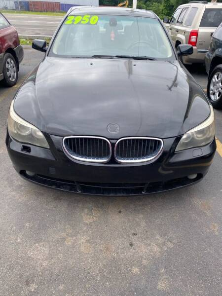 2005 BMW 5 Series for sale at Budget Auto Deal and More Services Inc in Worcester MA