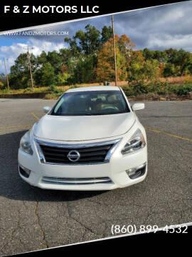 2013 Nissan Altima for sale at F & Z MOTORS LLC in Waterbury CT