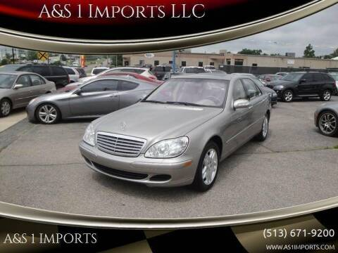 2003 Mercedes-Benz S-Class for sale at A&S 1 Imports LLC in Cincinnati OH