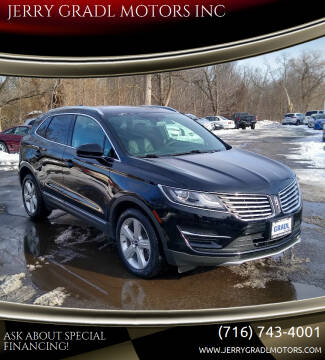 2018 Lincoln MKC for sale at JERRY GRADL MOTORS INC in North Tonawanda NY