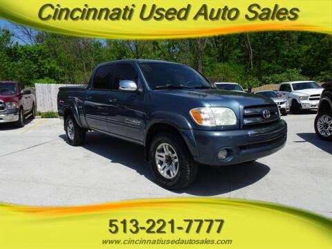 2005 Toyota Tundra for sale at Cincinnati Used Auto Sales in Cincinnati OH