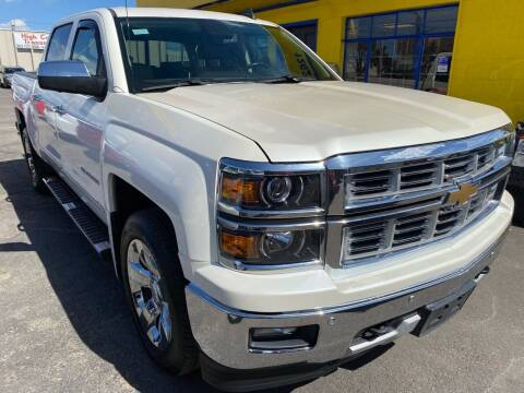 2015 Chevrolet Silverado 1500 for sale at New Wave Auto Brokers & Sales in Denver CO