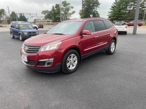 2013 Chevrolet Traverse for sale at Approved Automotive Group in Terre Haute IN