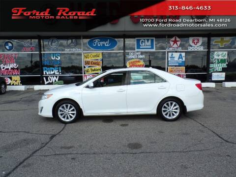 2012 Toyota Camry Hybrid for sale at Ford Road Motor Sales in Dearborn MI